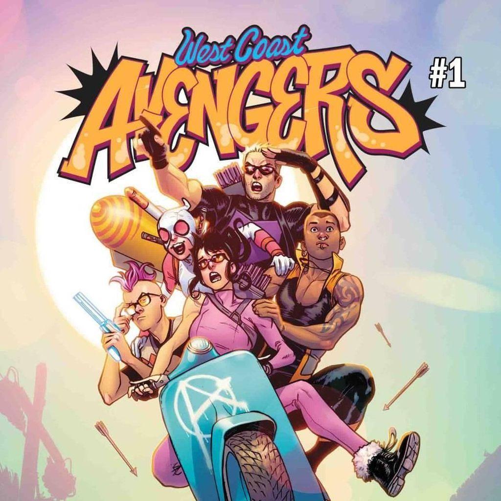 Seri Komik Terbaru West Coast Avengers Terbit 22 Agustus