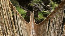 Jembatan Rumput Sekuat Baja Peninggalan Suku Inca