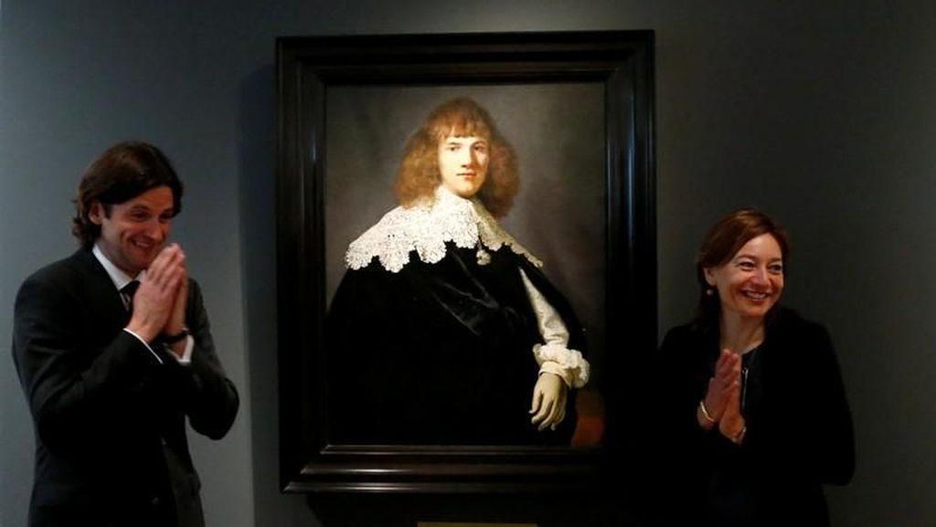 Art Dealer Belanda Temukan Lukisan Rembrandt yang Hilang 44 Tahun Lalu