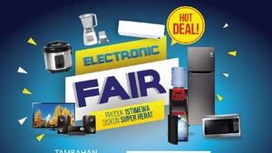 Akhir Pekan, Dapatkan Ragam Promo Elektronik di Transmart Carrefour