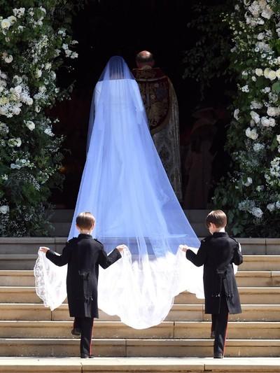 Dekorasi pernikahan Pangeran Harry dan Meghan Markle Foto: Reuters