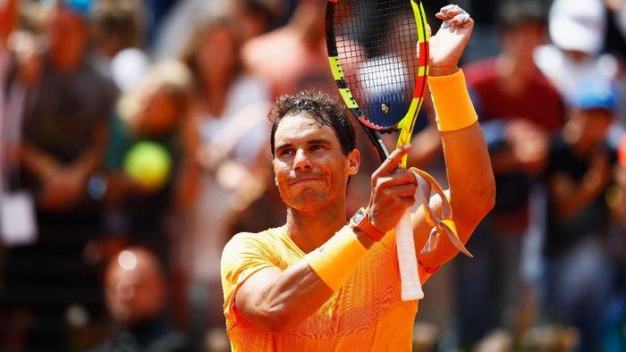 Rafael Nadal lolos ke semifinal Italia Terbuka usai mengalahkan Fabio Fognini (Foto: Julian Finney/Getty Images)