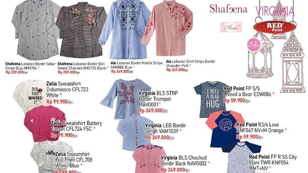 Pilihan Pakaian Nyaman dan Sopan dari Transmart Carrefour