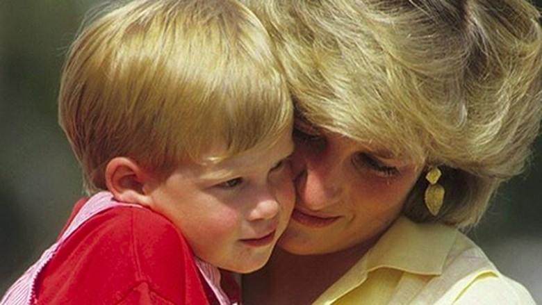 Kebiasaan Pegang Tangan Pangeran Harry Menurun dari Putri Diana/ Foto: instagram