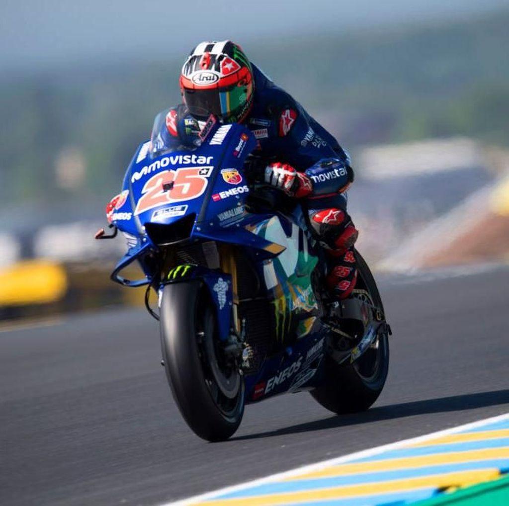 Latihan Ketiga MotoGP Prancis Dikuasai Vinales