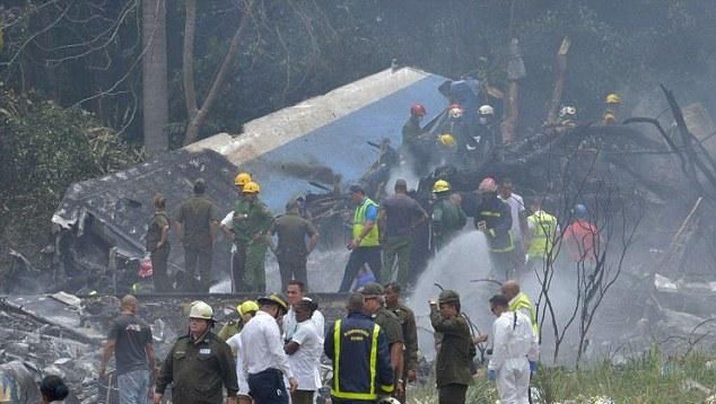 Pesawat di Havana Jatuh Usai Lepas Landas, Bawa 104 Orang