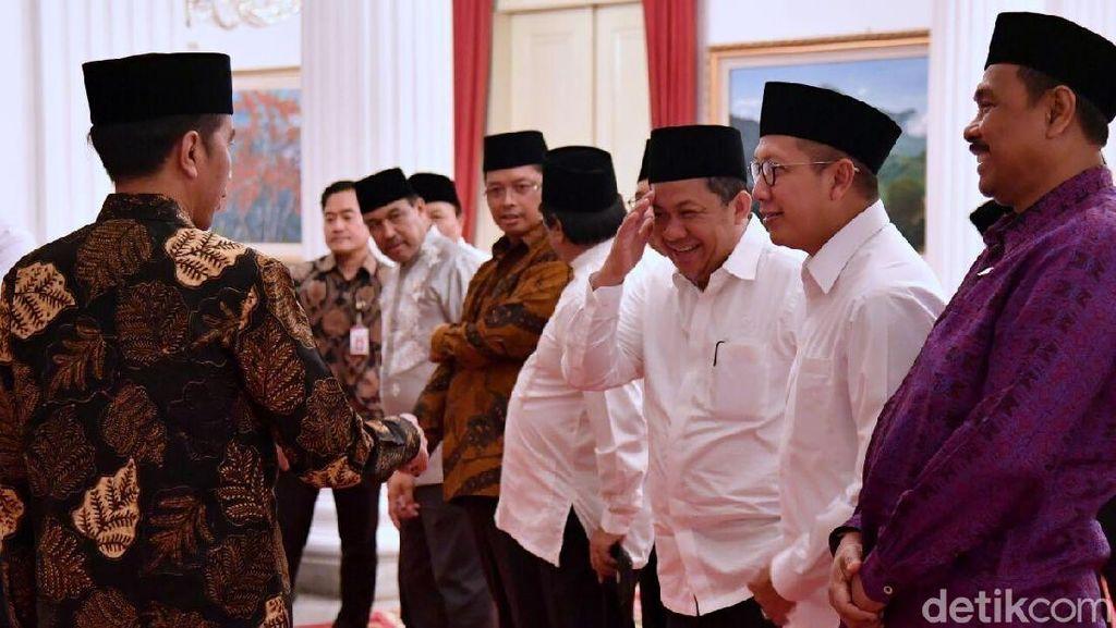 Foto Hormat Fahri Hamzah ke Jokowi yang Jadi Perbincangan