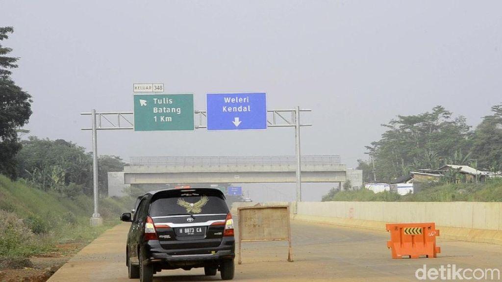 Tol Batang-Semarang Diprediksi Baru Mulai Ramai Besok