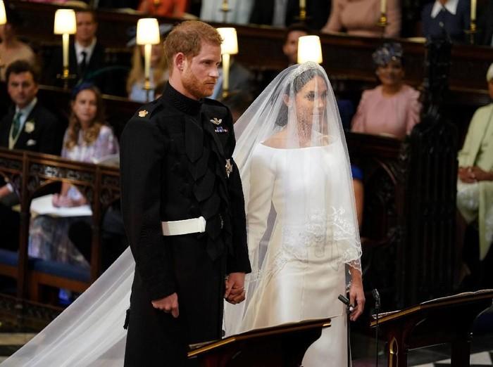 Pernikahan pangeran Harry dan Meghan Markle di Kastil Windsor. Foto: Reuters