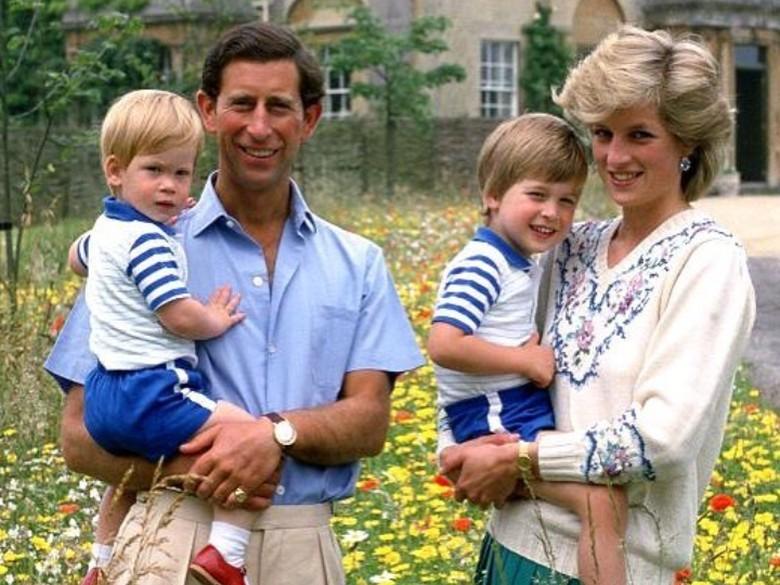 Mengharukan! Janji Pangeran William ke Putri Diana Sebelum Tiada