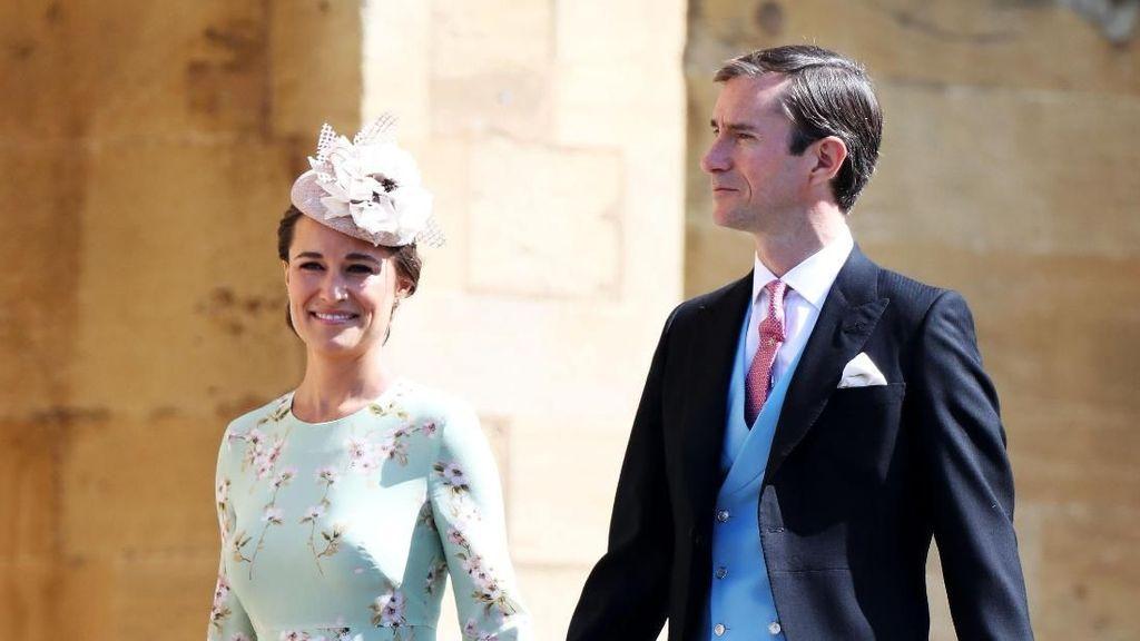 Hamil Anak Pertama, Pippa Middleton Memesona di Pernikahan Pangeran Harry
