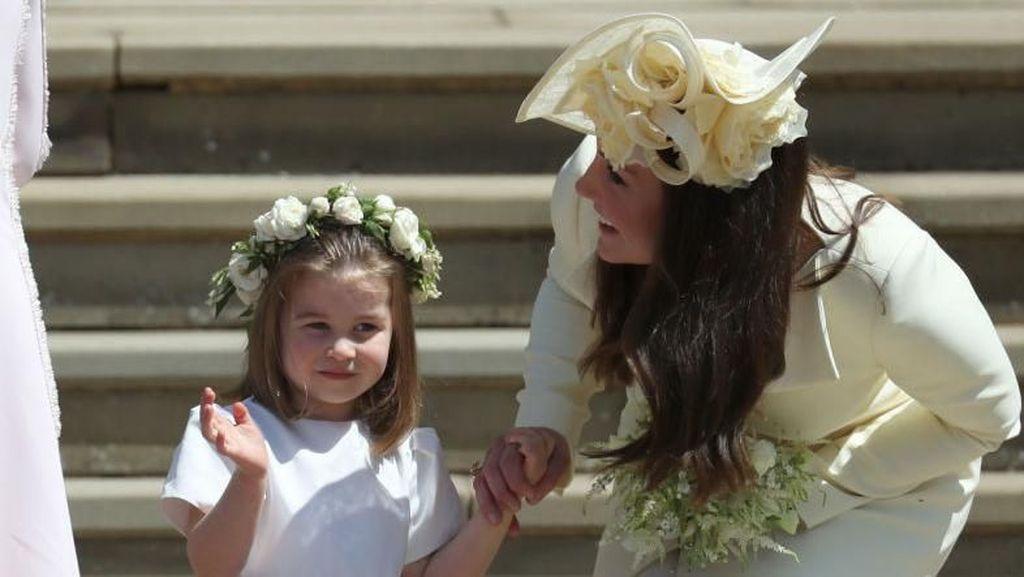 Bukan Baru, Baju Kate Middleton di Pernikahan Harry 4 Kali Dipakai