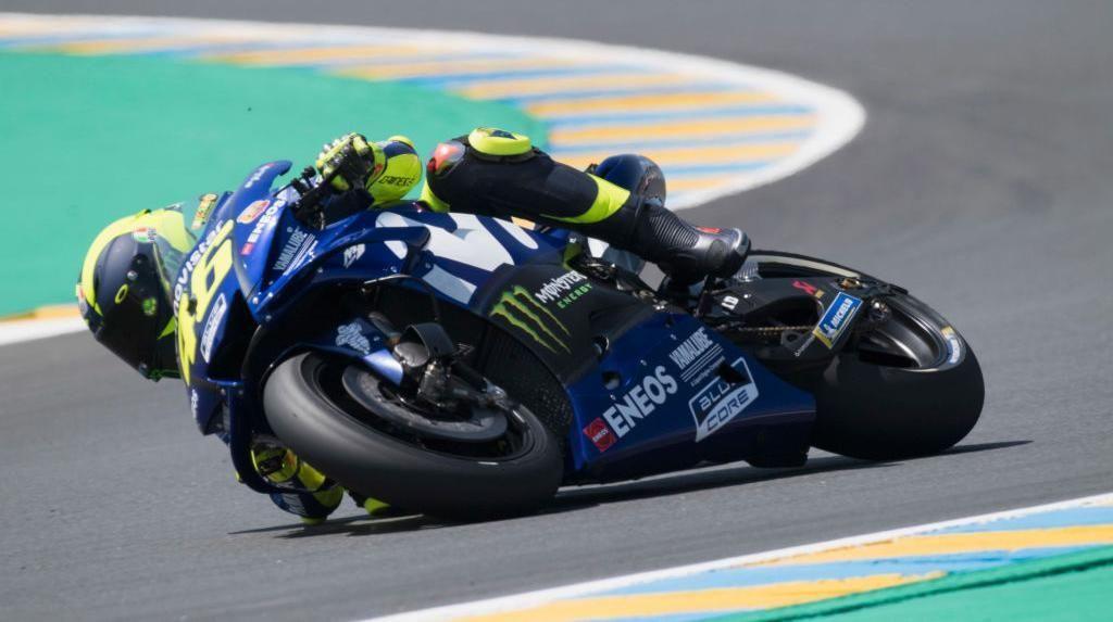Hasil Dua Latihan Awal MotoGP Prancis Bikin Rossi Senang