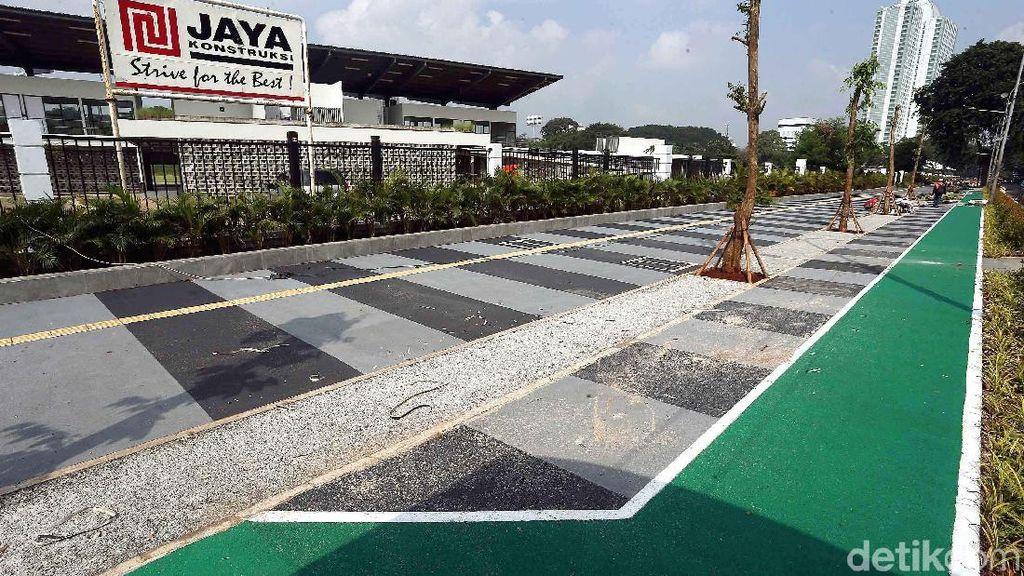 Cantiknya Pedestrian Jalan di Kawasan GBK Senayan