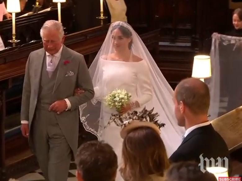 Kalimat Menyentuh Pangeran Charles ke Meghan Sebelum Royal Wedding