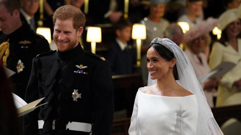 Pernikahan Pangeran Harry dan Meghan Markle (Jonathan Brady/Pool via REUTERS)