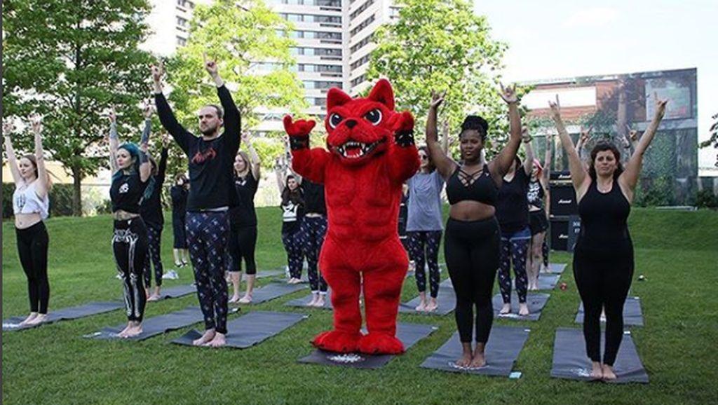 Baru Lagi, Tren Do.Om Yoga: Yoga Pakai Musik Jedag-jedug