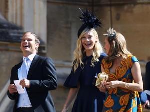 Arti Bahasa Tubuh Mantan Kekasih Pangeran Harry Saat Hadiri Royal Wedding