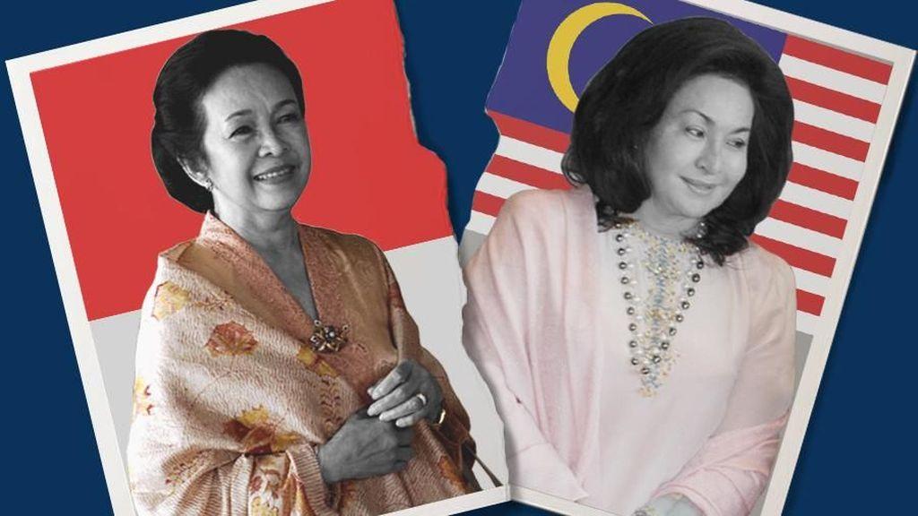Di Malaysia, Ainun Habibie Lebih Diidolakan Ketimbang Rosmah