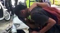 Heboh Pemotor Ditilang lalu Akting Kesurupan