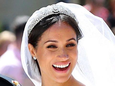 Dandan Sendiri di Hari Pernikahan, Begini Hasil Makeup Meghan Markle