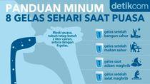 Panduan Minum Saat Puasa Agar Terpenuhi 8 Gelas Sehari