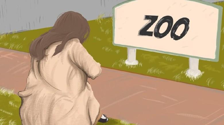 Aku Menunggu Jodohku di Kebun Binatang