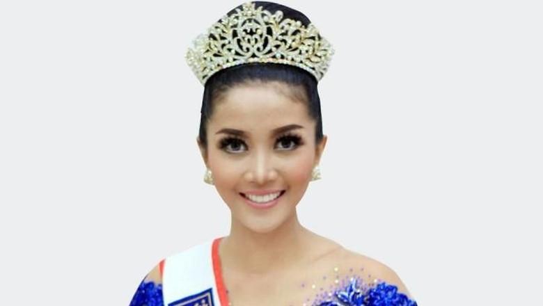 Revindia Carina, Miss Tourism Queen Internasional 2018 (Suparno Nodhor/detikTravel)