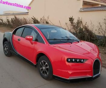 Bugatti KW Made in China, Cuma RP 84 Juta
