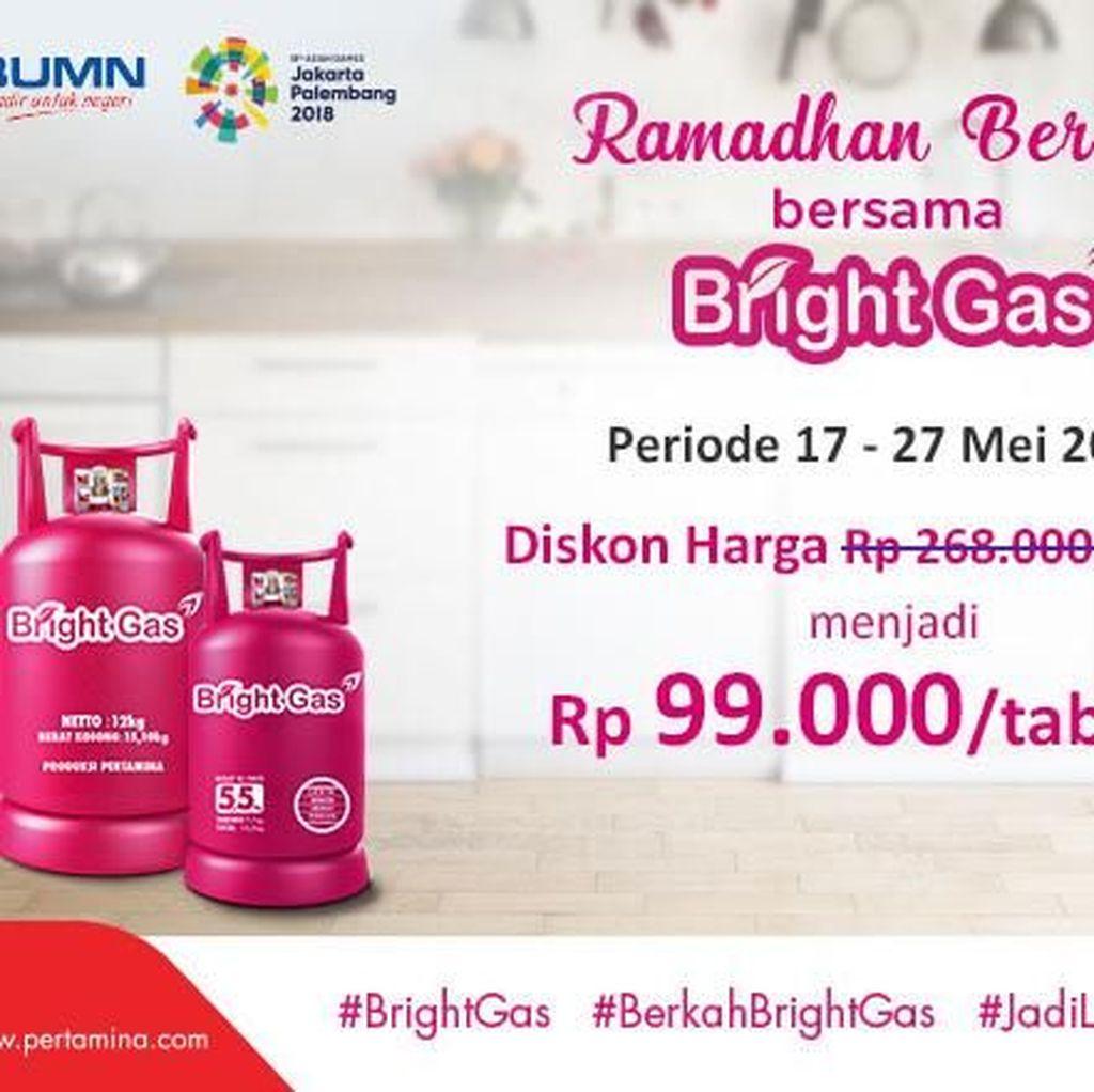 Kabar Gembira! Promo Ramadhan Berkah Bersama Bright Gas Datang Lagi!