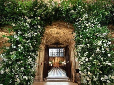 Dekorasi pernikahan Pangeran Harry dan Meghan Markle
