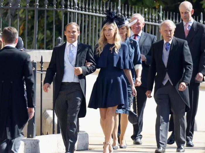 Mantan kekasih Pangeran Harry, Chelsy Davy, hadir di Royal Wedding. Foto: Chris Jackson/Getty Images