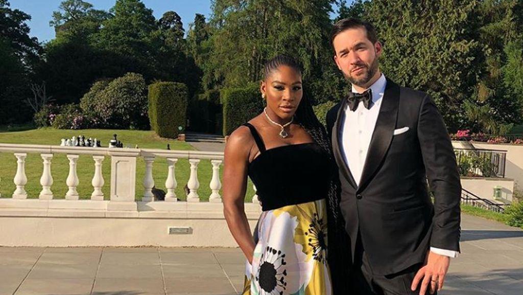 Pesan Menyentuh Suami untuk Serena Williams di Wimbledon 2018