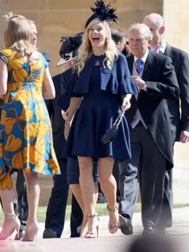 Arti Bahasa Tubuh Mantan Kekasih Pangeran Harry Saat Hadir Royal Wedding