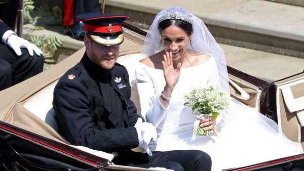 Perbandingan Gaun Meghan Markle dan Putri Denmark, Mirip?