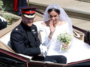 Arti Bahasa Tubuh Pangeran Harry dan Meghan Markle di Pernikahannya