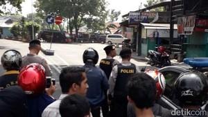 Tas Mencurigakan Ditinggal di Terminal Pandaan, Gegana Diterjunkan