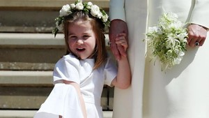 Putri Charlotte Dipuji Tampil Paling Pede Saat Royal Wedding