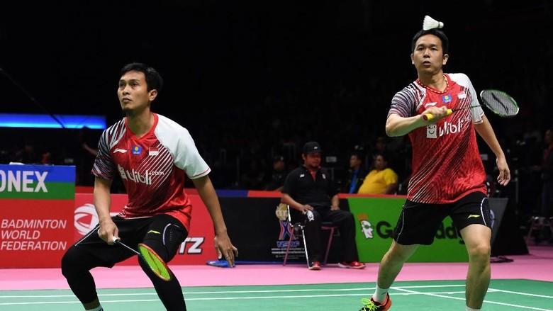 Hendra/Ahsan Menang, Indonesia Imbangi Korea 2-2