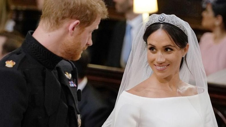 Pujian Pangeran Harry untuk Meghan Markle di Hari Pernikahan/ Foto: Ben Stansall/Getty Images