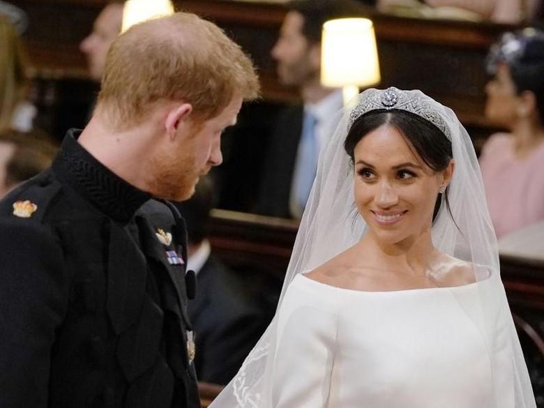 Meghan Markle Tak Merasa Gugup saat Menikah dengan Harry