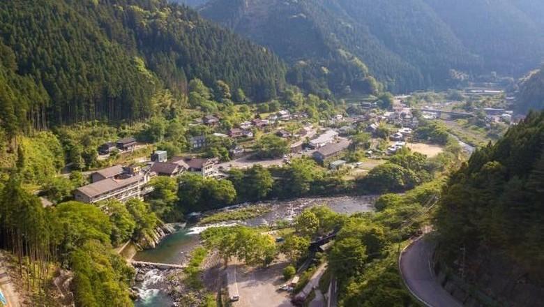 Foto: Desa di Jepang yang Bikin 45 Kategori Tempat Sampah