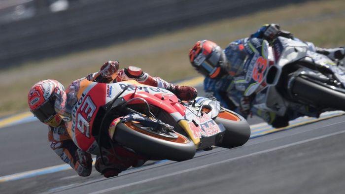 Marc Marquez menangi balapan MotoGP Prancis 2018 (Mirco Lazzari gp/Getty Images)