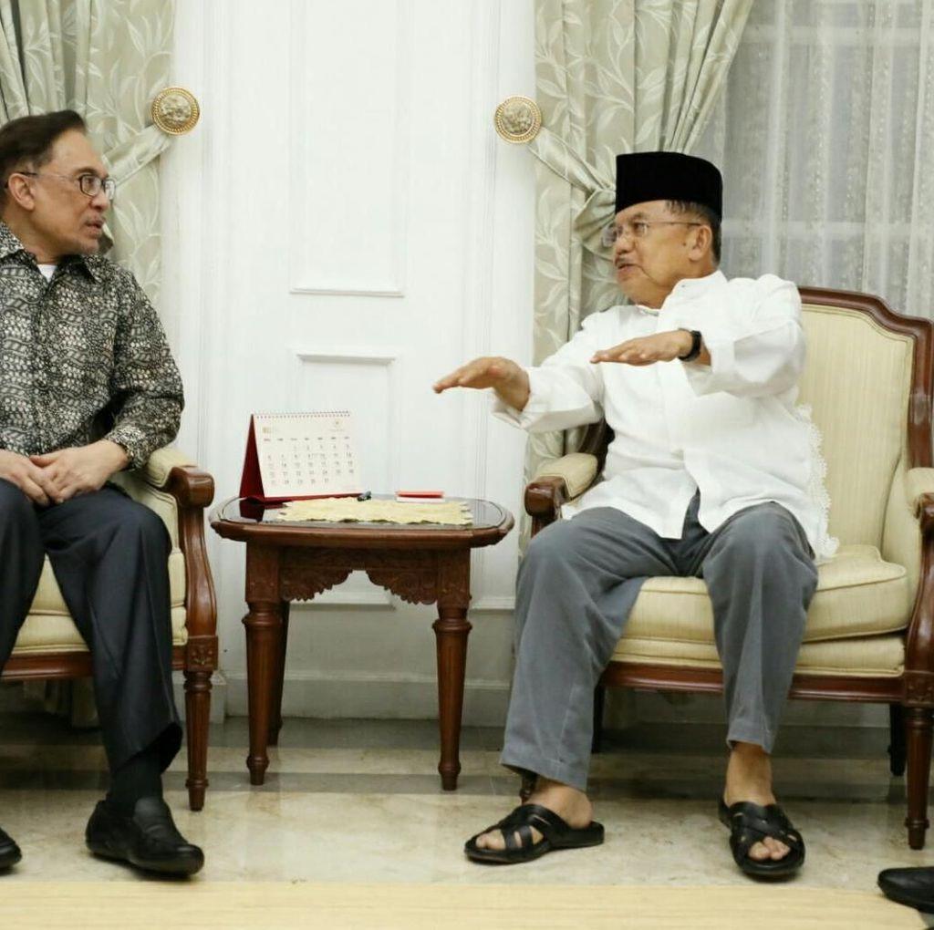 JK Bertemu Anwar Ibrahim Bahas Situasi Malaysia Terkini