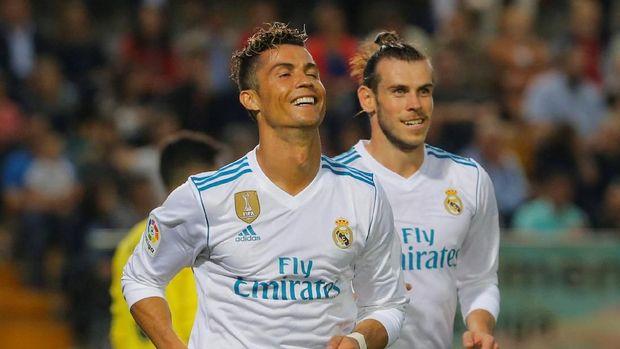 Cristiano Ronaldo dan Gareth Bale menjadi dua pemain bintang di Real Madrid.