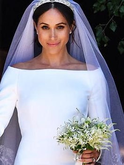 Freckles Meghan Markle jadi tren tato Foto: Getty Images