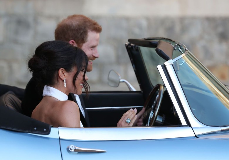 Pangeran Harry dan Meghan Markle. Foto: Steve Parsons - WPA Pool/Getty Images