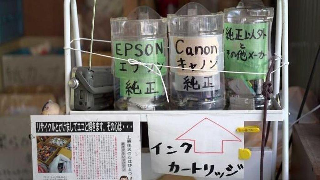 Inginkan Zero Waste, Desa di Jepang Ini Buat 45 Jenis Tempat Sampah