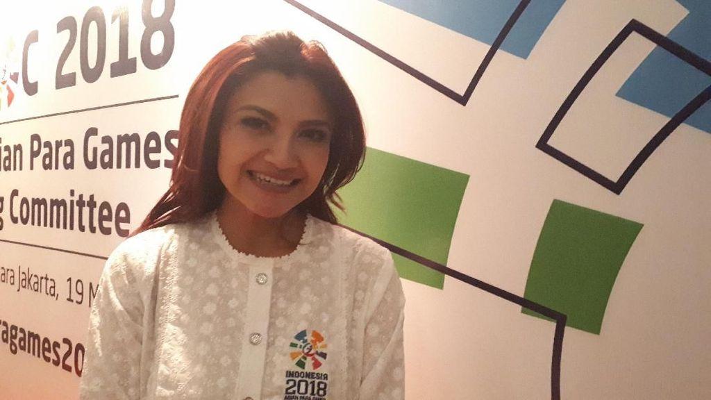 Gabung Kepanitiaan Asian Para Games, Tina Talisa Langsung Turut Promosi