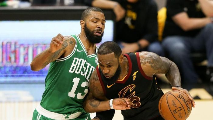 Cleveland Cavaliers menangi gim ketiga final Wilayah Timur NBA 2018 kontra Boston Celtics (Aaron Doster-USA TODAY Sports)